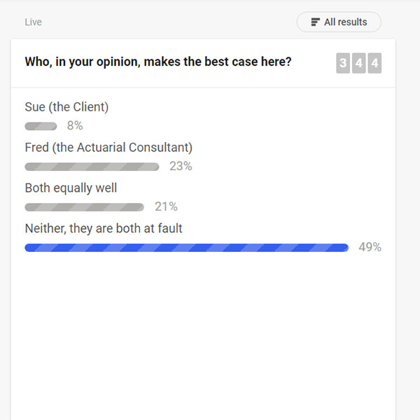 Engage your audience with live polls